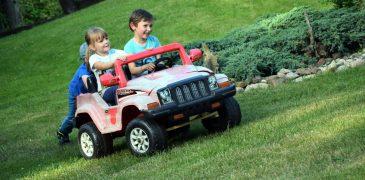 auto dzieci sommerfest festyn 2016