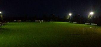 Nowe oświetlenie boiska – 2016