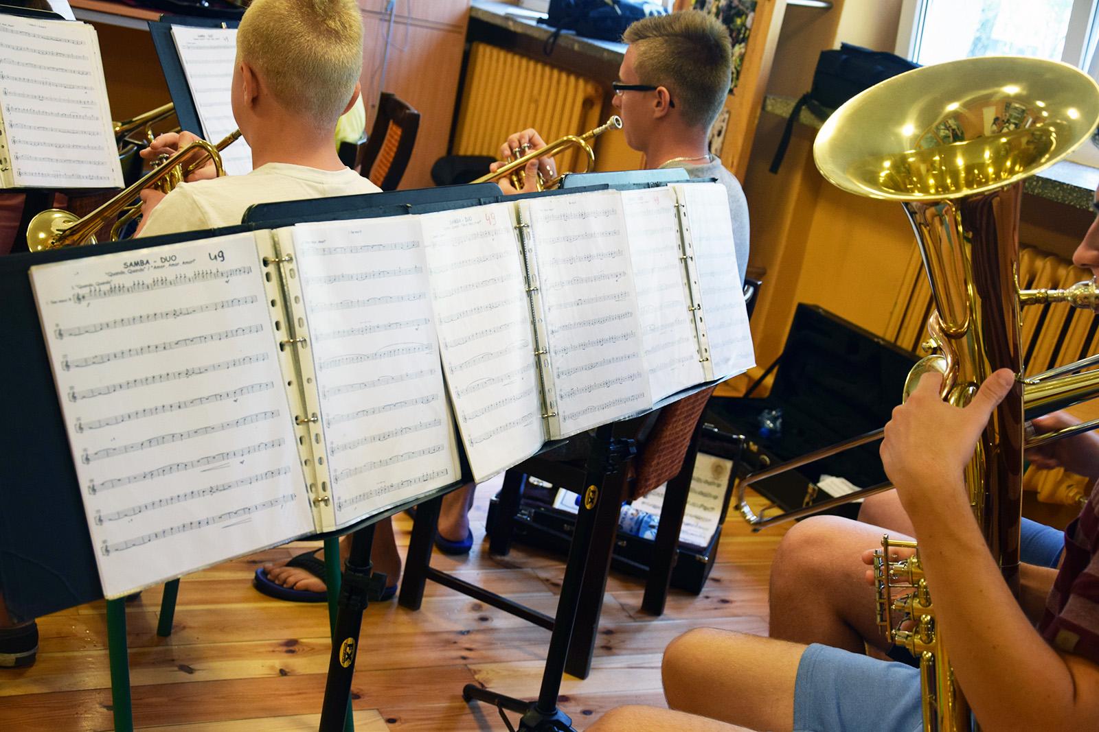 Warsztaty muzyczne orkiestry 2016