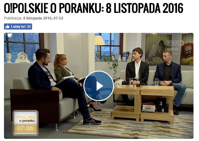 O!polskie o poranku – TVP3 Opole – Wioski tematyczne 2016