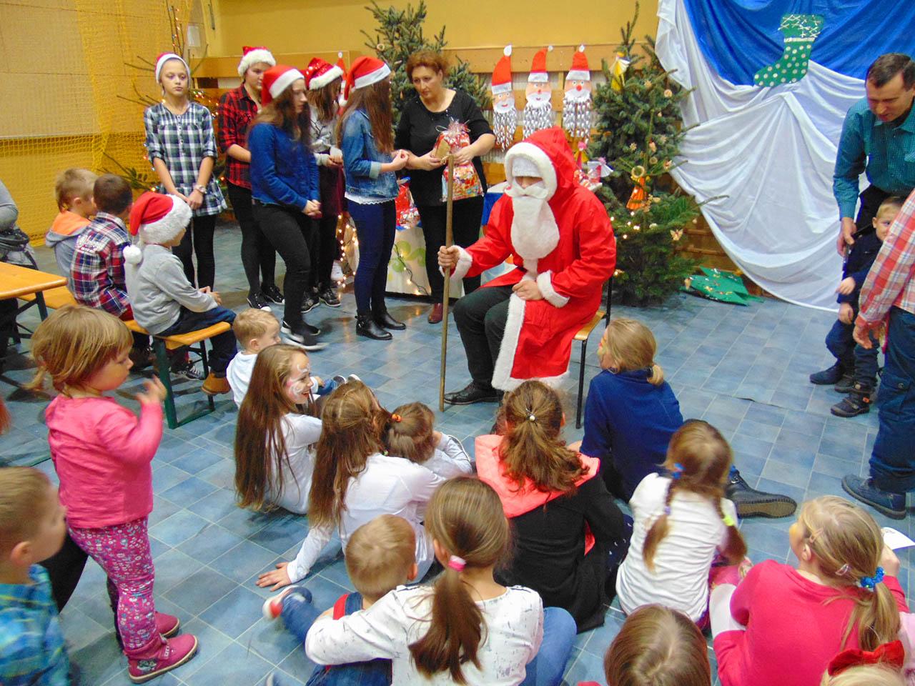 Wizyta św. Mikołaja w Chocianowicach – 2016