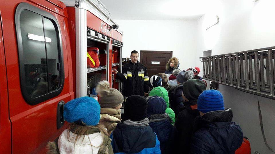 Wizyta Szkoły w OSP Chocianowice