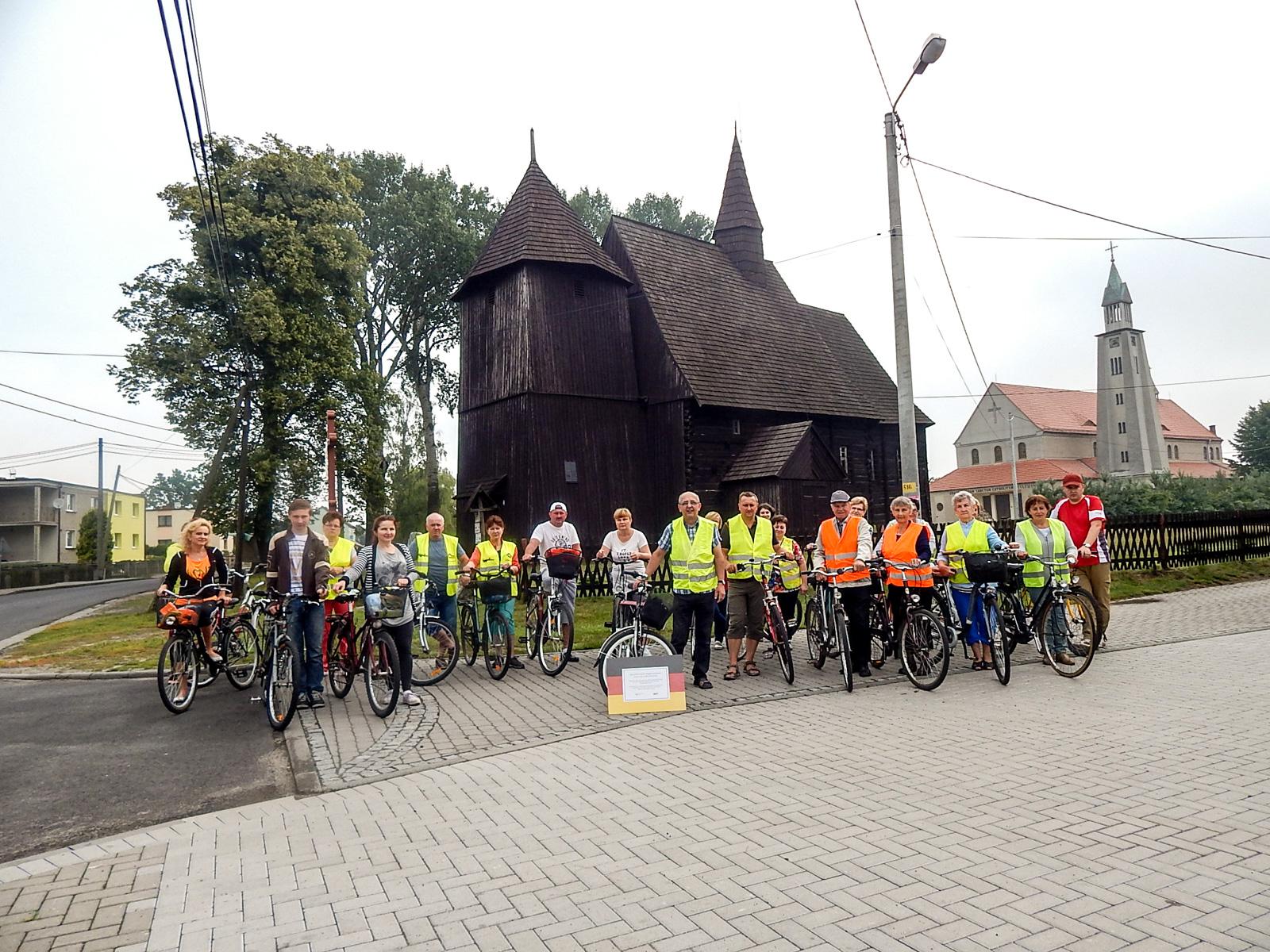 Na rowerach po zakątkach gminy