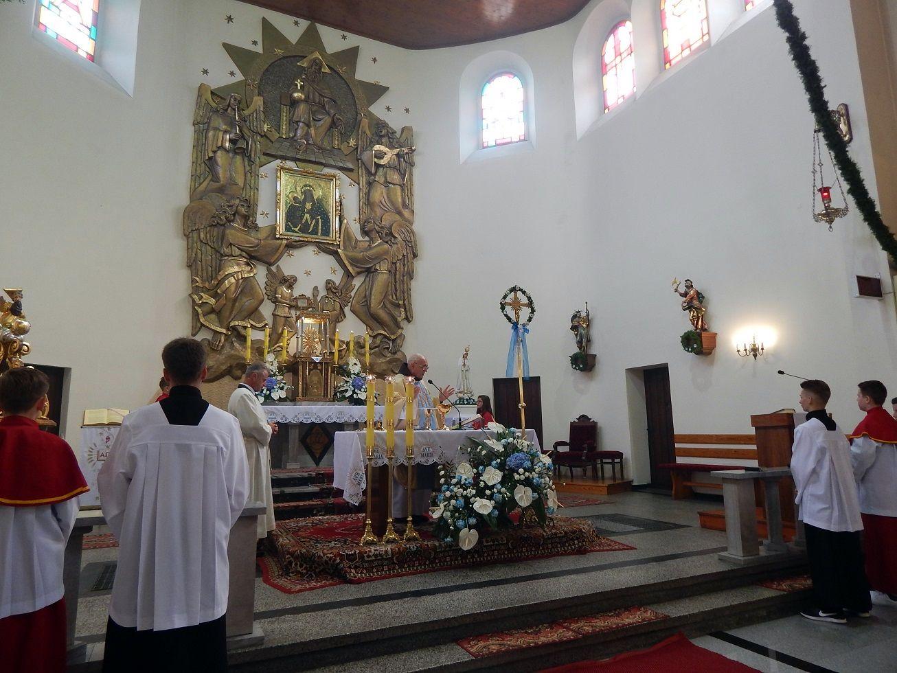 Odpust Narodzenia NMP w Chocianowicach 2017