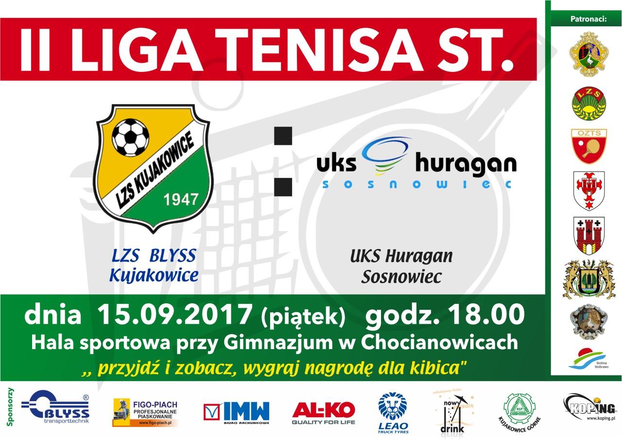 Zapowiedź meczu LZS Blyss Kujakowice – UKS Huragan Sosnowiec 15.09.2017