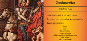 Obchody św. Marcina – 11.11.2017 – plakat
